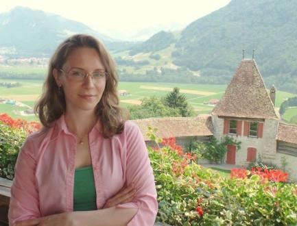 At Chateau de Gruyères, Gruyères, Switzerland, July 2015